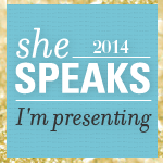 She Speaks Presenter